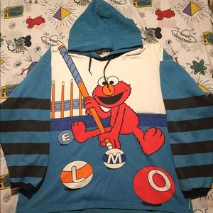 vintage Sesame Street with Elmo sweater.